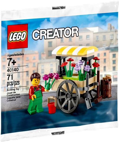 LEGO Creator Flower Cart Exclusive Mini Set #40140 [Bagged]