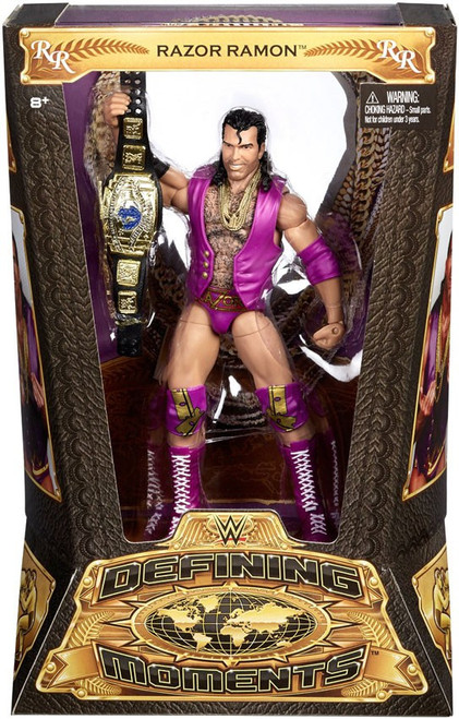 WWE Wrestling Defining Moments Razor Ramon Action Figure