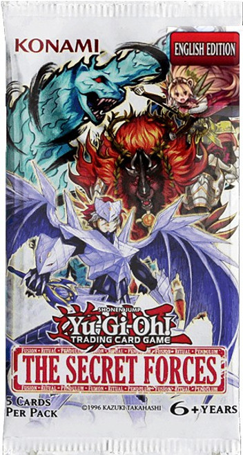YuGiOh Trading Card Game The Secret Forces Booster Pack