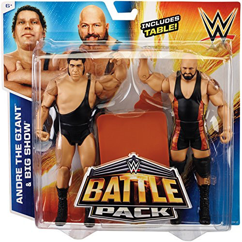 WWE Wrestling Battle Pack Series 33 Andre the Giant & Big Show Action Figure 2-Pack [Table]