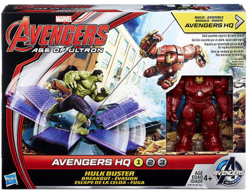 Marvel Avengers Age of Ultron Hulk Buster Breakout Action Figure Set