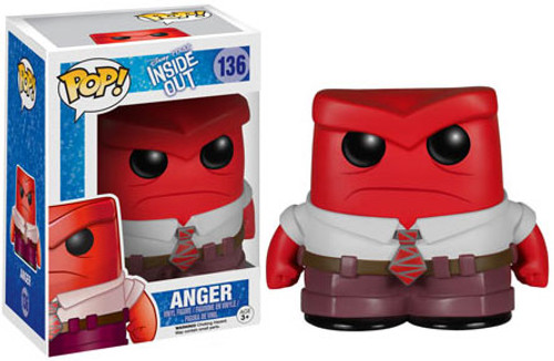 Funko Disney / Pixar Inside Out POP! Disney Anger Vinyl Figure #136