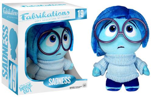 Disney / Pixar Inside Out Funko Fabrikations Sadness Plush #19
