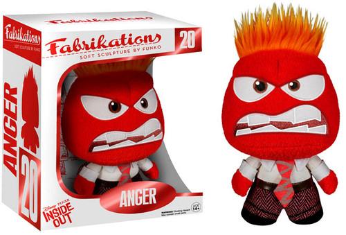 Disney / Pixar Inside Out Funko Fabrikations Anger Plush #20