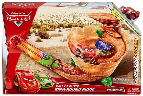 Disney / Pixar Cars Riplash Racers Willy's Butte Rip-A-Round Ridge Track Set