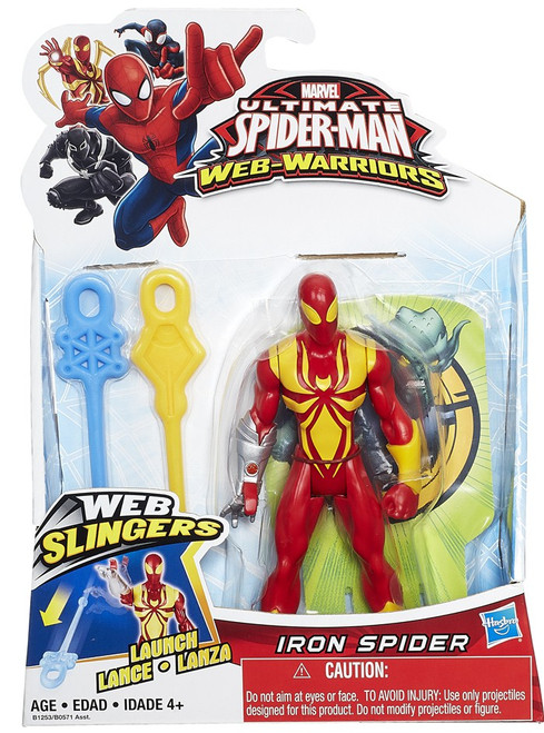 Ultimate Spider-Man Web-Warriors Web Slingers Iron Spider Action Figure