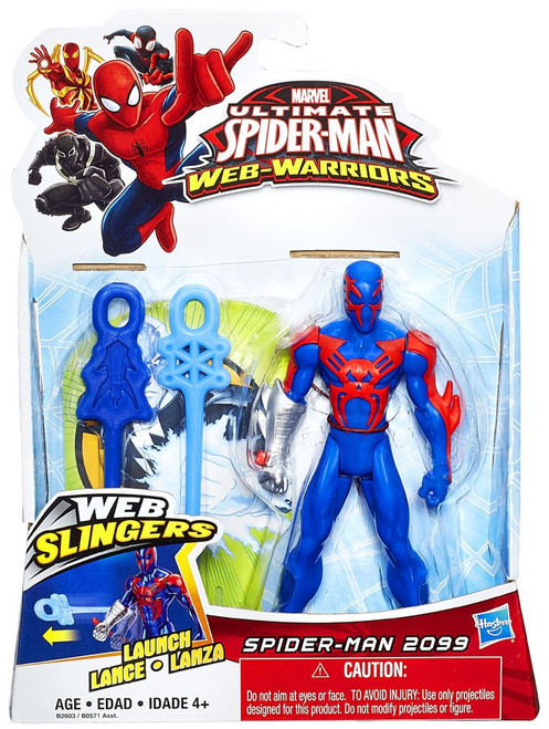 Ultimate Spider-Man Web-Warriors Web Slingers Spider-Man 2099 Action Figure