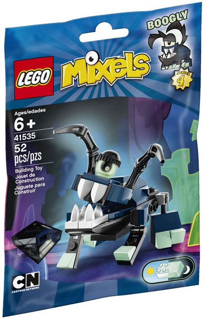 LEGO Mixels Series 4 BOOGLY Set #41535 [Bagged]
