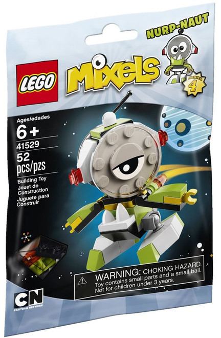LEGO Mixels Series 4 NURP-NAUT Set #41529 [Bagged]