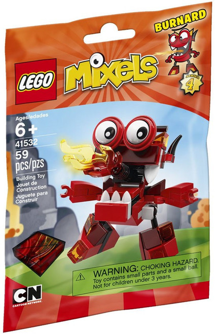 LEGO Mixels Series 4 BURNARD Set #41532 [Bagged]