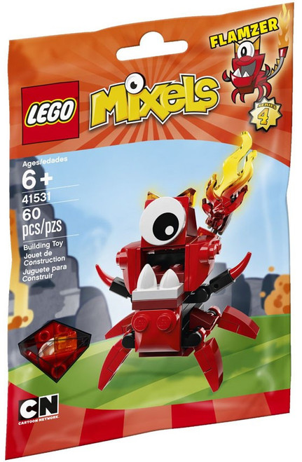 LEGO Mixels Series 4 FLAMZER Set #41531 [Bagged]