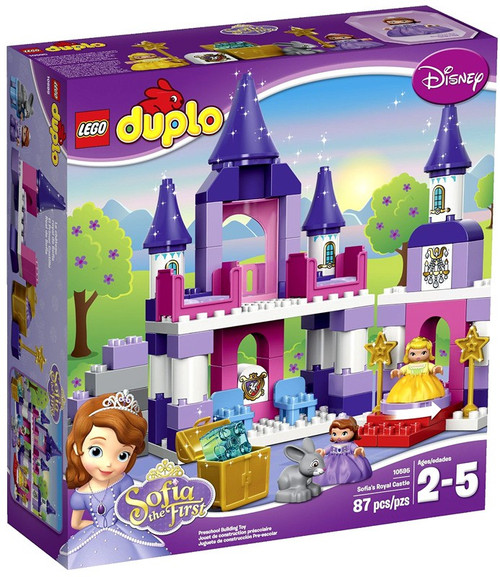 LEGO Disney Princess Duplo Sofia the First Sofia's Royal Castle Set #10595