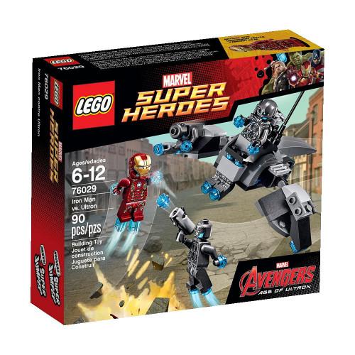 LEGO Marvel Super Heroes Avengers Age of Ultron Iron Man vs. Ultron Set #76029
