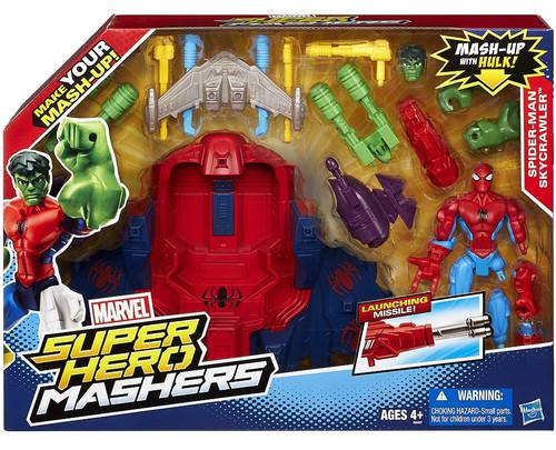 Marvel Super Hero Mashers Spider-Man Skycrawler Action Figure