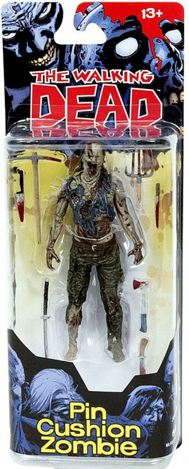 McFarlane Toys The Walking Dead Comic Series 4 Pin Cushion Zombie Action Figure
