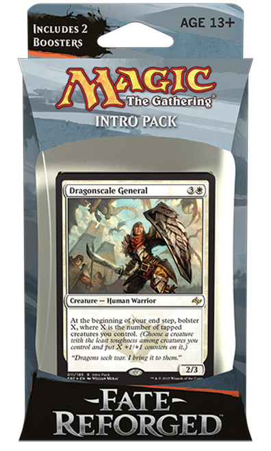 MtG Trading Card Game Fate Reforged Unflinching Assault Intro Deck