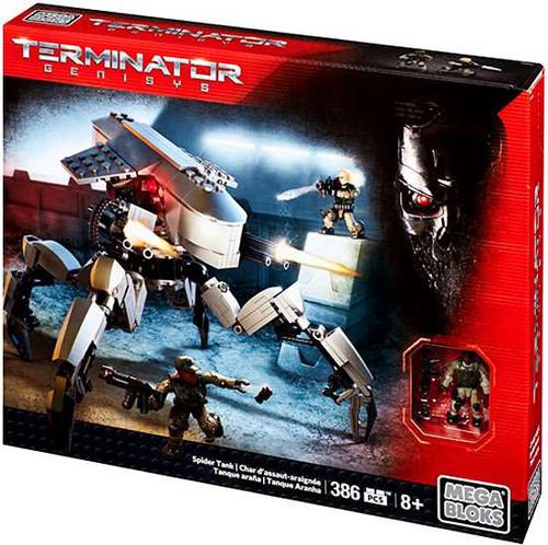 Mega Bloks Terminator Genisys Spider Tank Set #38073