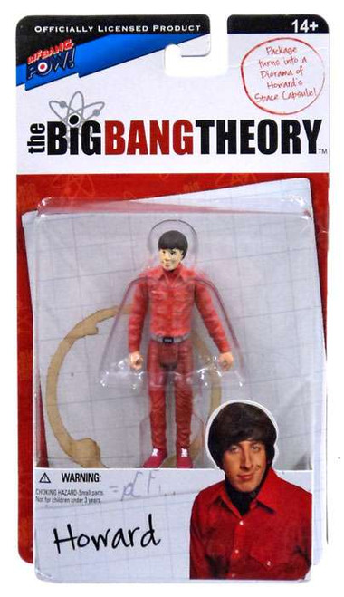 The Big Bang Theory Series One Howard Action Figure