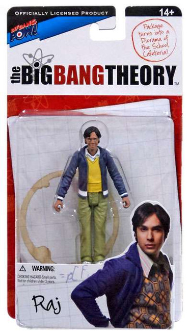 The Big Bang Theory Series One Raj Action Figure