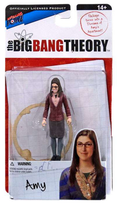 The Big Bang Theory Series One Amy Farrah Fowler Action Figure