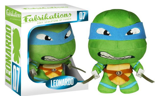 Teenage Mutant Ninja Turtles Funko Fabrikations Leonardo 6-Inch Plush #07