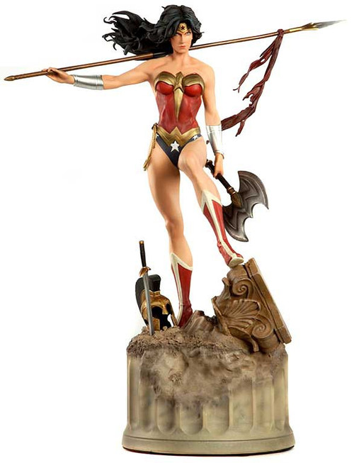 DC Premium Format Wonder Woman Statue