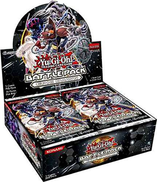 YuGiOh Trading Card Game Battle Pack: Epic Dawn (Unlimited) Booster Box [24 Packs]