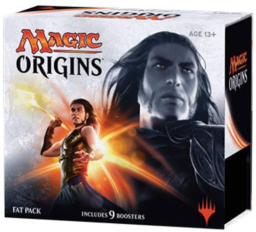 MtG Trading Card Game Magic Origins Fat Pack [Includes 9 Booster Packs!]