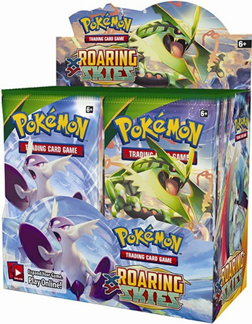 Pokemon Trading Card Game XY Roaring Skies Booster Box [36 Packs]