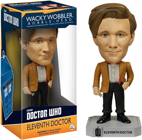Funko Doctor Who Wacky Wobbler Eleventh Doctor Bobble Head