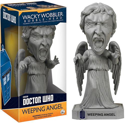 Funko Doctor Who Wacky Wobbler Weeping Angel Bobble Head