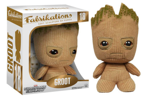 Marvel Guardians of the Galaxy Funko Fabrikations Groot Plush #18