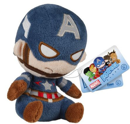 Funko Marvel Mopeez Captain America Plush