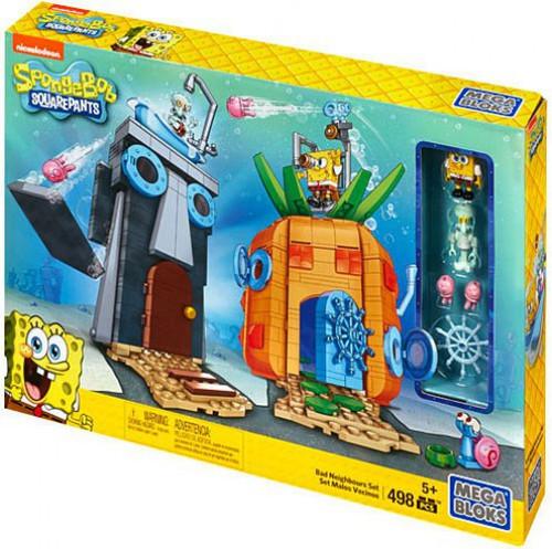 Mega Bloks Spongebob Squarepants Bad Neighbors Set #38038