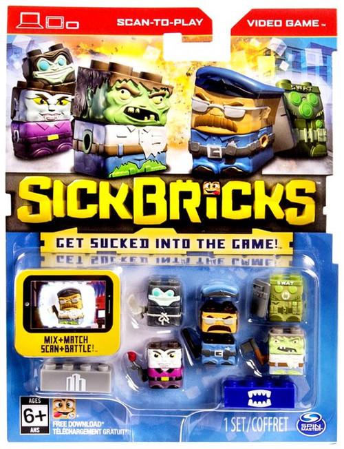 Sick Bricks Sick Team City & Monster Minifigure 5-Pack