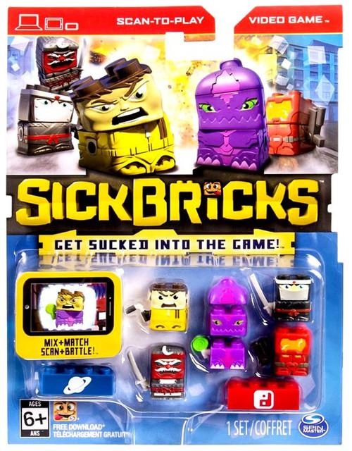 Sick Bricks Sick Team Space & Ninja Minifigure 5-Pack