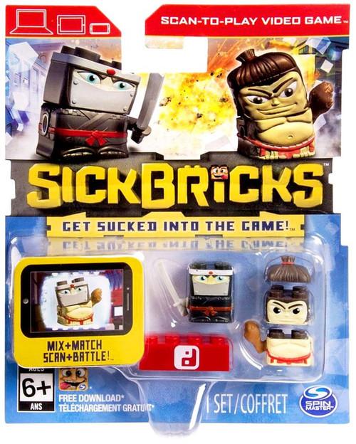 Sick Bricks Hiro Thunderbutt & Silent Shadow Minifigure 2-Pack