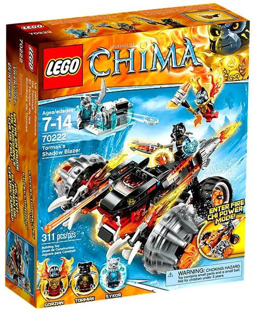 LEGO Legends of Chima Tormaks Shadow Blazer Set #70222
