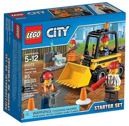 LEGO City Demolition Starter Set Set #60072