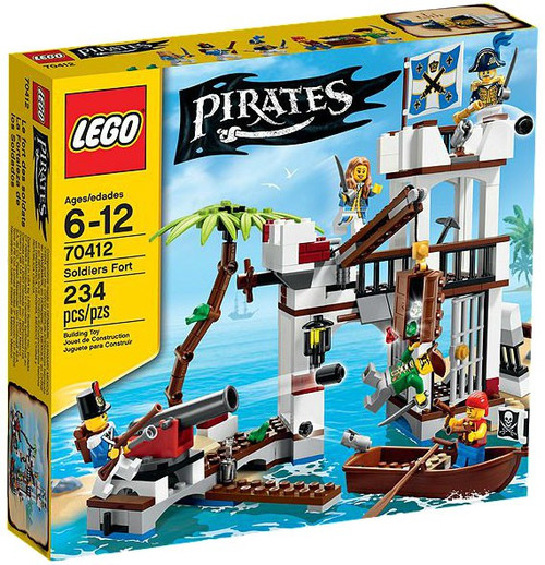 LEGO Pirates Soldiers Fort Set #70412