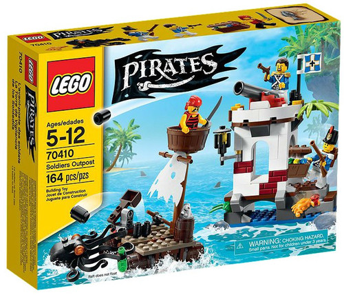 LEGO Pirates Soldiers Outpost Set #70410
