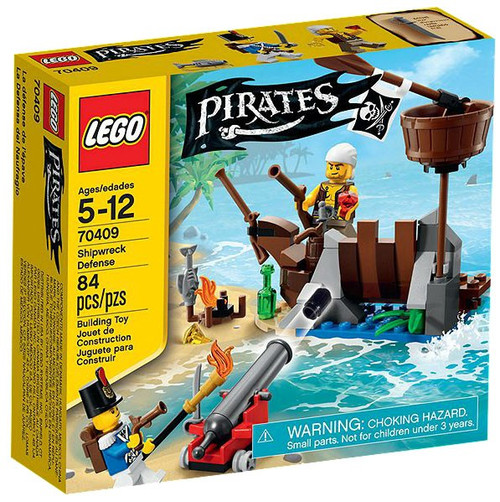 LEGO Pirates Shipwreck Defense Set #70409