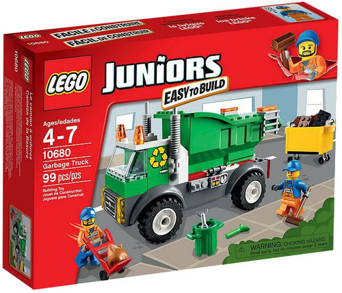 LEGO Juniors Garbage Truck Set #10680