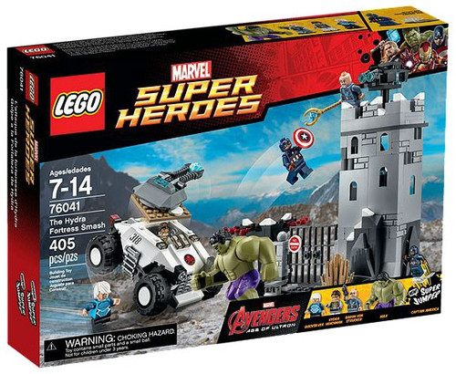 LEGO Marvel Super Heroes Avengers The Hydra Fortress Smash Exclusive Set #76041