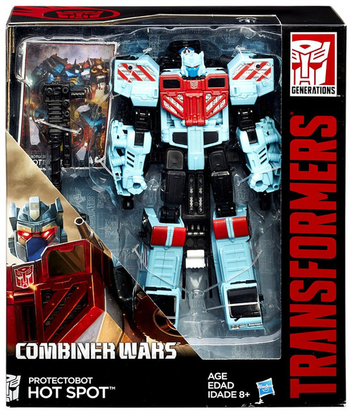 Transformers Generations Combiner Wars Hot Spot Voyager Action Figure [Protectobot]