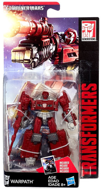 Transformers Generations Combiner Wars Warpath Legend Action Figure