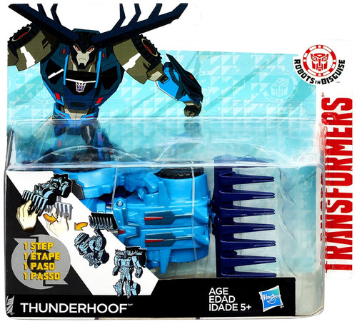 Transformers Robots in Disguise 1 Step Changers Thunderhoof Action Figure