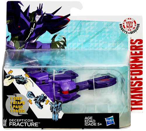 Transformers Robots in Disguise 1 Step Changers Decepticon Fracture Action Figure