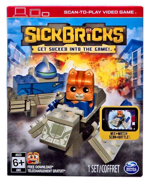 Sick Bricks Bucky Blastoff vs. Berserker Bot Character Pack