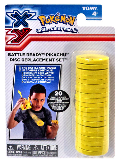 Pokemon XY Battle Ready Pikachu Disc Replacement Set